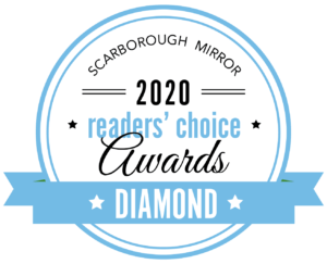 Scarborough Mirror Readers Choice Diamond Award in 2020